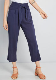 ModCloth ModCloth Bay Area Believer Cropped Pants