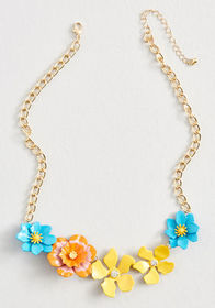 Wake and Wow Statement Necklace Multi