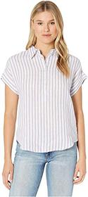 LAUREN Ralph Lauren Striped Linen Shirt