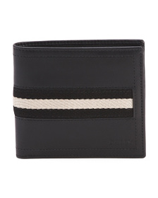 BALLY Made In Italy Tollen Leather Wallet