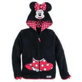 Disney Minnie Mouse Hooded Fleece Jacket for Girls