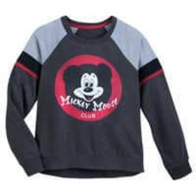Disney Mickey Mouse Club Raglan Pullover for Women