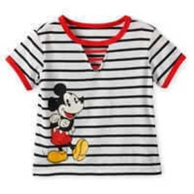 Disney Mickey Mouse Striped Top for Girls