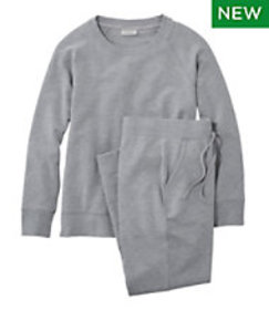 LL Bean Wicked Soft Knit Pullover Set