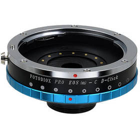 FotodioX Canon EF to C-Mount Pro Lens Mount Adapte