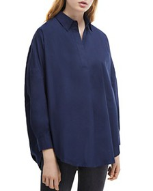 FRENCH CONNECTION - Rhodes Pullover Cotton Poplin