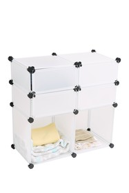 Mindreader Covered Multi-Purpose Magic Cube - Whit