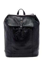 Cole Haan Leather Flap Backpack