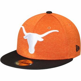 Texas Longhorns New Era Heathered Huge Fitted Hat