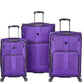 Delsey Sky Max 3 Piece Spinner Luggage Set