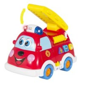 Best Choice Products Fire Truck Toy with Lights an