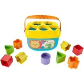 Fisher-Price Baby's First Blocks Playset, 10 color