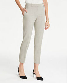 The Ankle Pant in Crosshatch