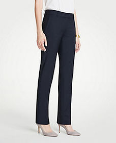 The Straight Pant In Tropical Wool - Curvy Fit