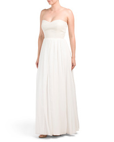 AFTER SIX Convertible Halter Gown