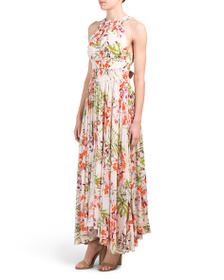ABEL THE LABEL Juniors Vienna Orchard Maxi Dress
