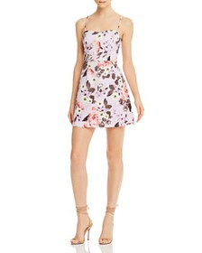FRENCH CONNECTION - Armoise Floral Print Mini Dres