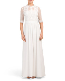 FOUR FLAVOUR Designed In Germany Lace Gown
