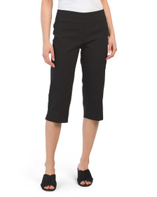 RUBY RD Petite Pull On Stretch Capris