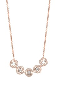 Swarovski Angelic Square Crystal Frontal Necklace