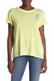 Free People Wipeout Short Sleeve T-Shirt