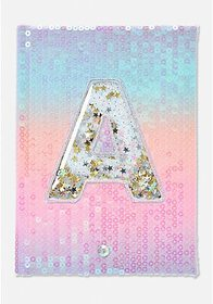 Justice Shaky Initial Light Up Journal