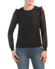 LOVE TOKEN Justice Lace Top
