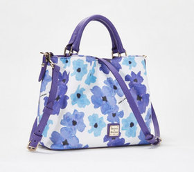 """""""As Is"""" Dooney & Bourke Coated Cotton Bloom Small"""