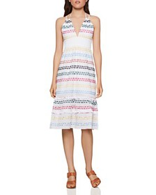 BCBGENERATION - Rainbow Eyelet Dress - 100% Exclus