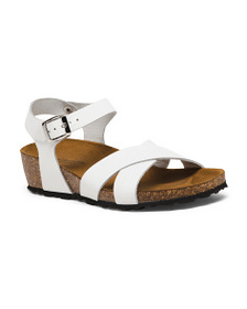 GIANETTI Made In Italy Leather Sandals