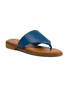 DON UORRI Made In Italy Leather Sandals