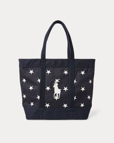 Ralph Lauren Star-Spangled Pony Cotton Tote