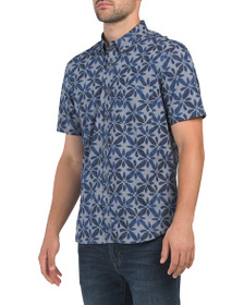 FRENCH CONNECTION Design Short Sleeve Woven Shirt