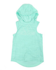 Adidas transition sleeveless hoodie (7-16)