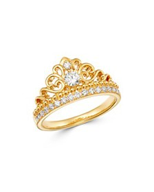 Bloomingdale's - Diamond Milgrain Ring in 14K Yell