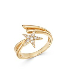 Bloomingdale's - Diamond Shooting Star Bypass Ring