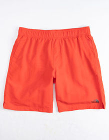 THE NORTH FACE Class V Pull-On Red Mens Swim Trunk