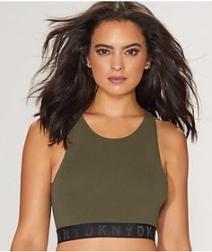 DKNY Seamless High Neck Bralette on sale at Bare Necessities