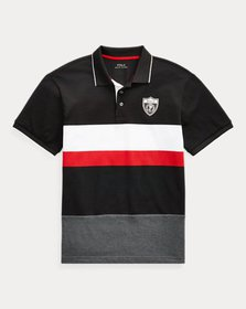 Ralph Lauren Striped Mesh Polo Shirt