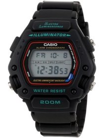 Men's Digital Sport Watch, Black Strap