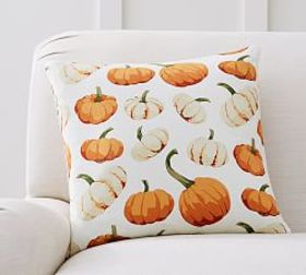 Pottery Barn Scattered Pumpkin Pillow Cover