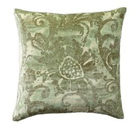 Pottery Barn Scarlett Velvet Pillow Cover
