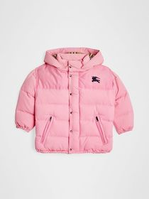 Burberry Detachable Hood Down-filled Puffer Jacket