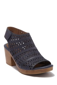 Sofft Ophia Leather Perforated Sandal