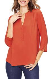 CURVES 360 BY NYDJ Perfect Blouse (Regular & Plus