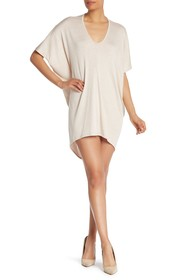 Go Couture High/Low Draped Dress