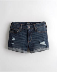 Hollister Advanced Stretch Mid-Rise Denim Short 3