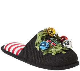 Dearfoams Unisex Novelty Holiday Slippers - A41824