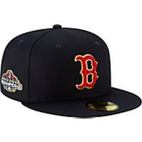 New Era Men's Boston Red Sox Championship Gold 59F