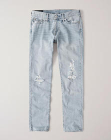 Ripped Skinny Jeans, RIPPED LIGHT WASH